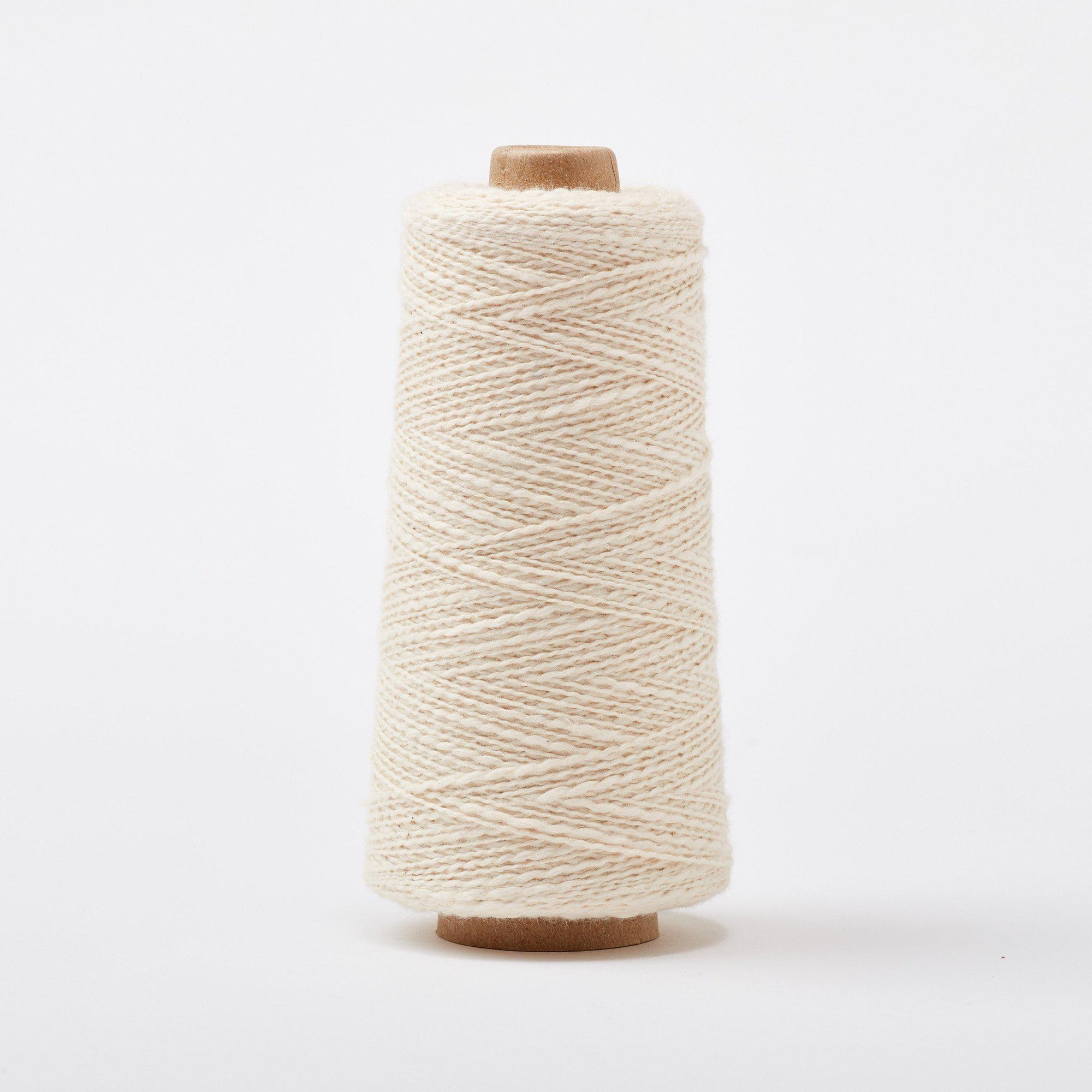 Mallo Cotton Slub Weaving Yarn Natural