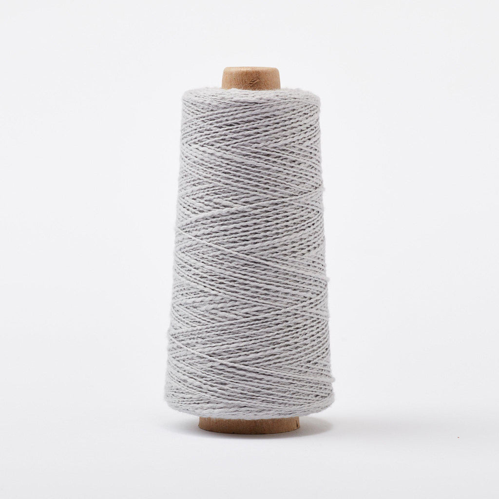 Mallo Cotton Slub Weaving Yarn Steel