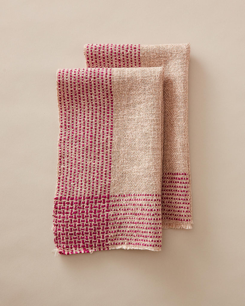 Running Stitch Towels Rigid Heddle Weaving Pattern