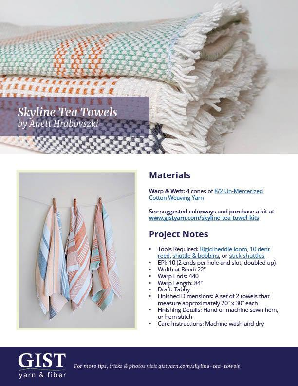 Skyline Tea Towels Kit ~ Sydney