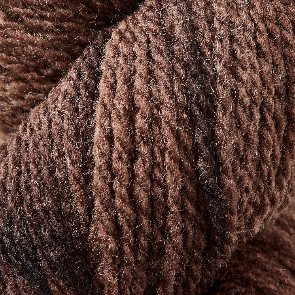 Suffolk Wool Weaving Yarn Cowboy Brown
