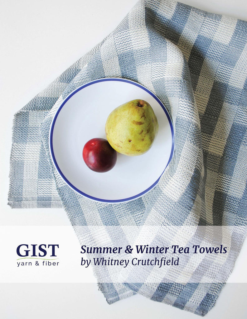 Summer and Winter Tea Towels - Free Pattern PDF Download