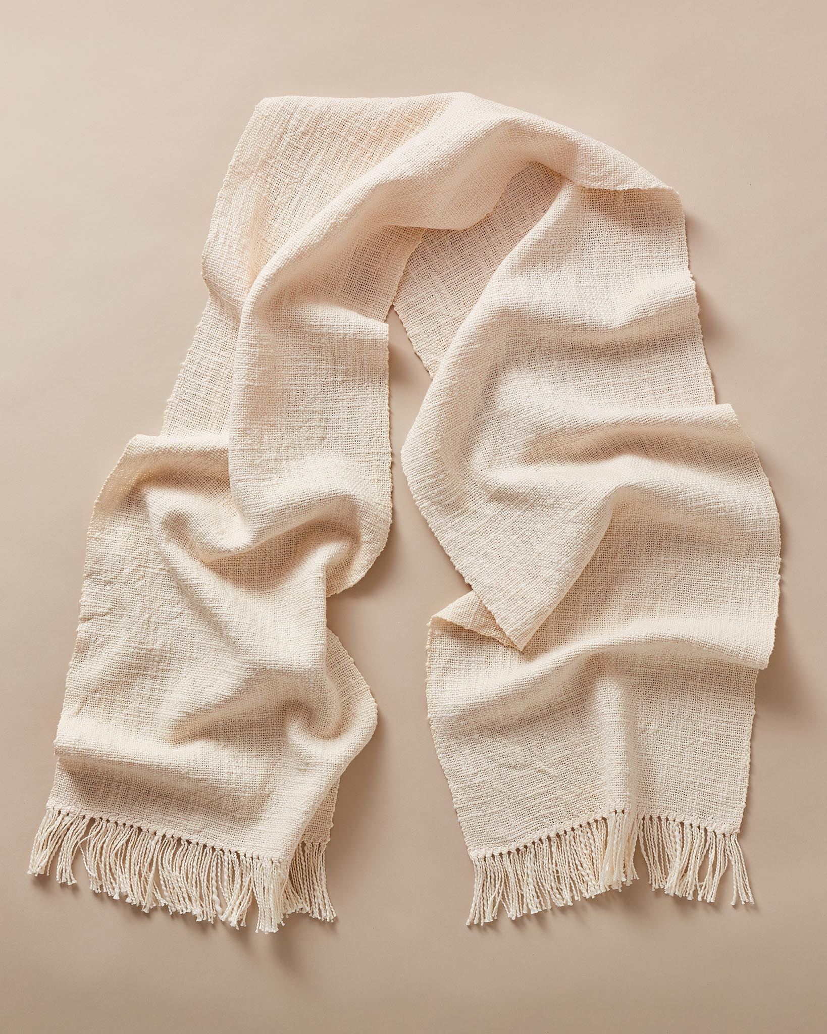 Textured Cotton Scarf