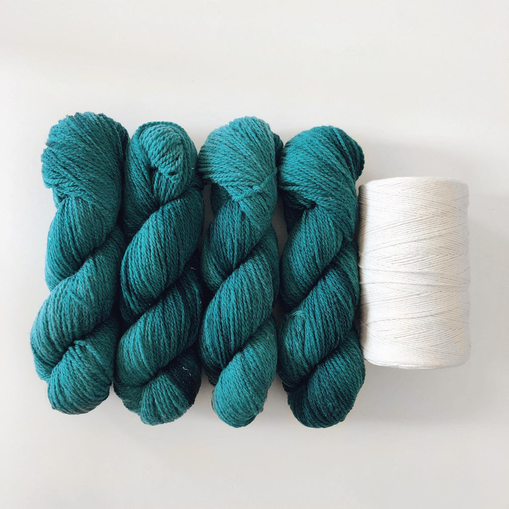 Weekend Rug Kit ~ Teal