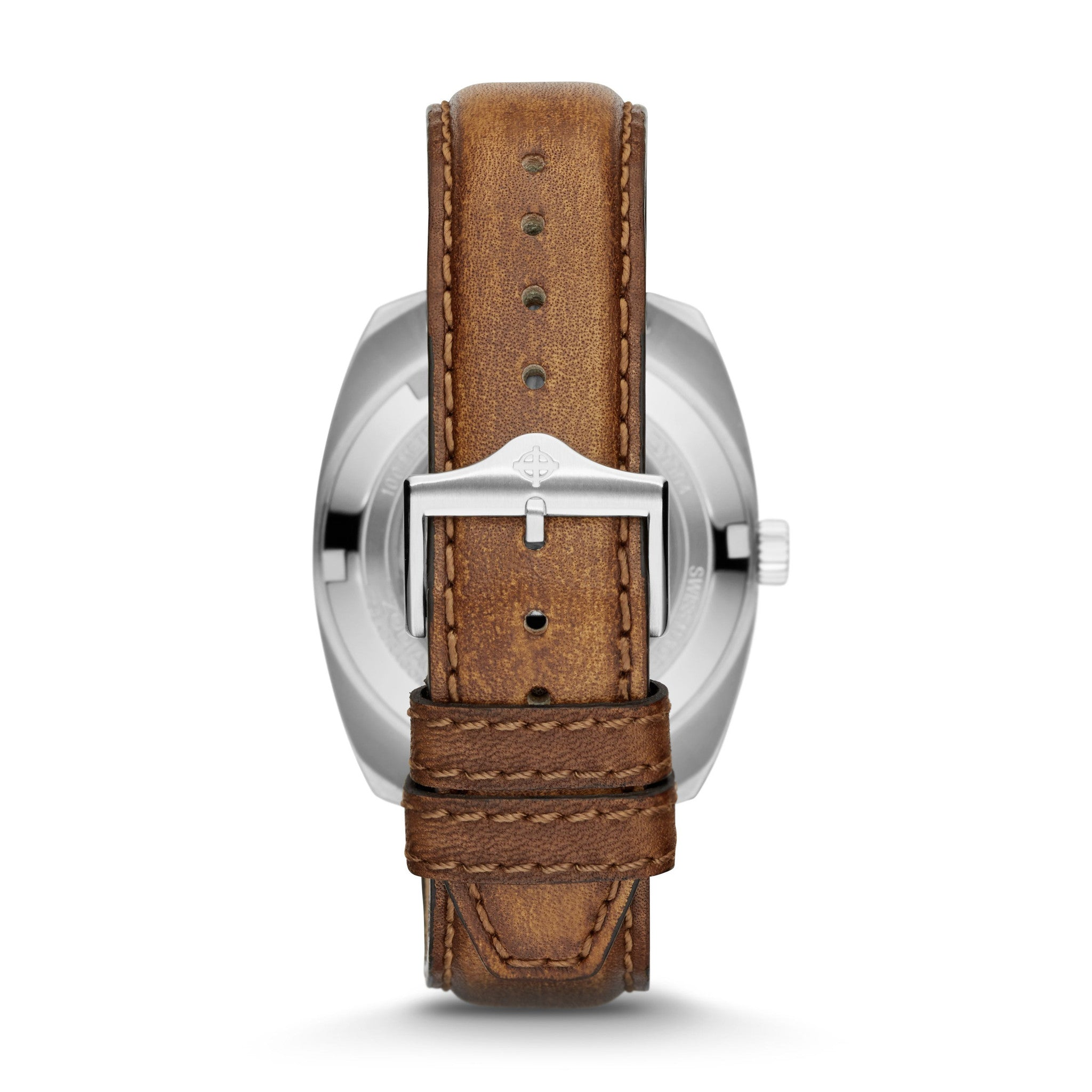SEA DRAGON AUTOMATIC BROWN LEATHER WATCH