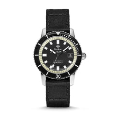 SUPER SEA WOLF AUTOMATIC BLACK FABRIC WATCH