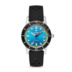 SUPER SEA WOLF 53 COMPRESSION AUTOMATIC BLACK RUBBER WATCH