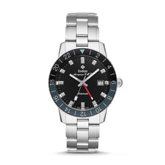 LIMITED EDITION AEROSPACE GMT AUTOMATIC STAINLESS STEEL WATCH