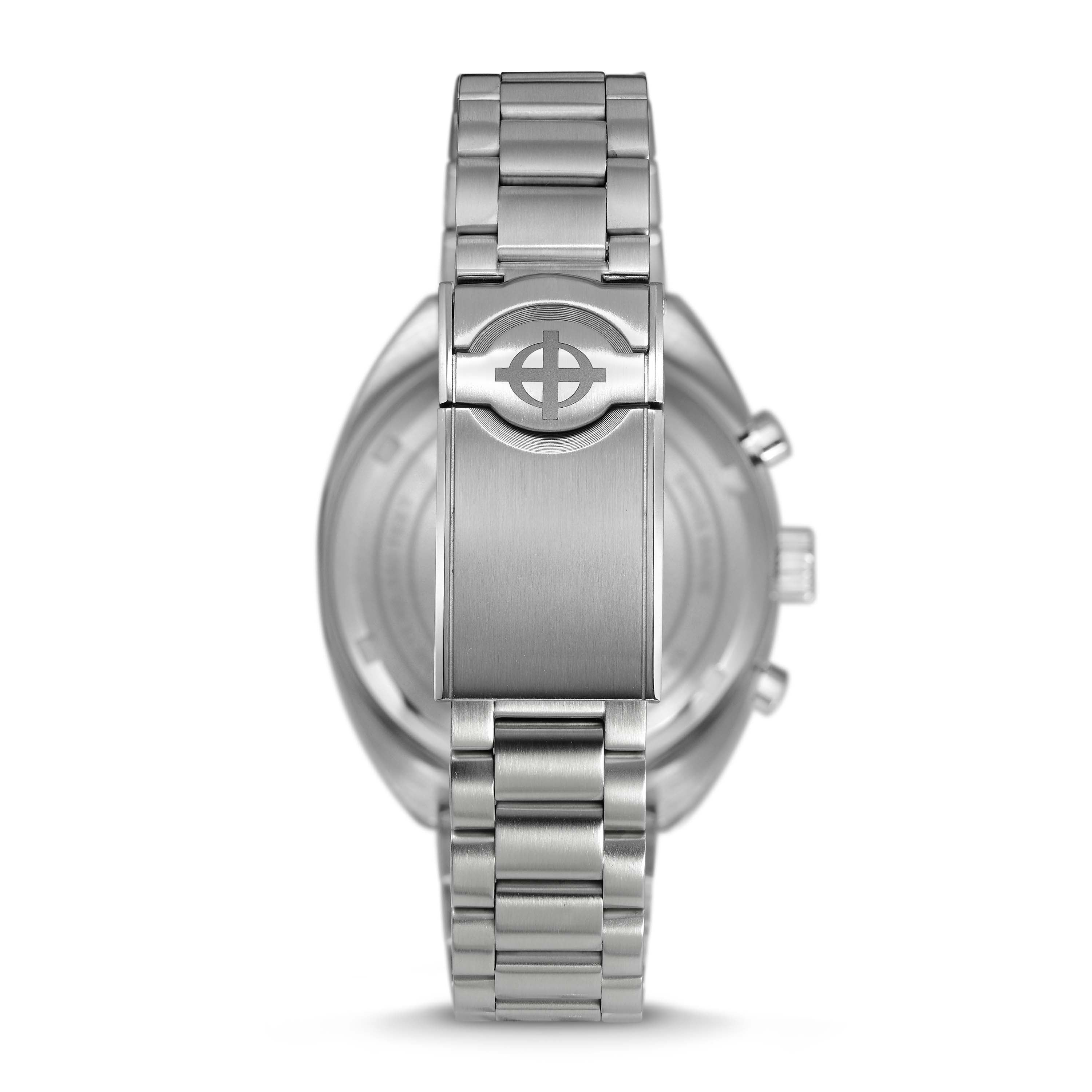 GRANDRALLY QUARTZ STAINLESS STEEL WATCH