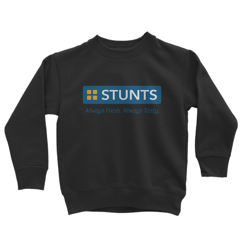 Tasty Stunts + REAR Classic Kids Sweatshirt