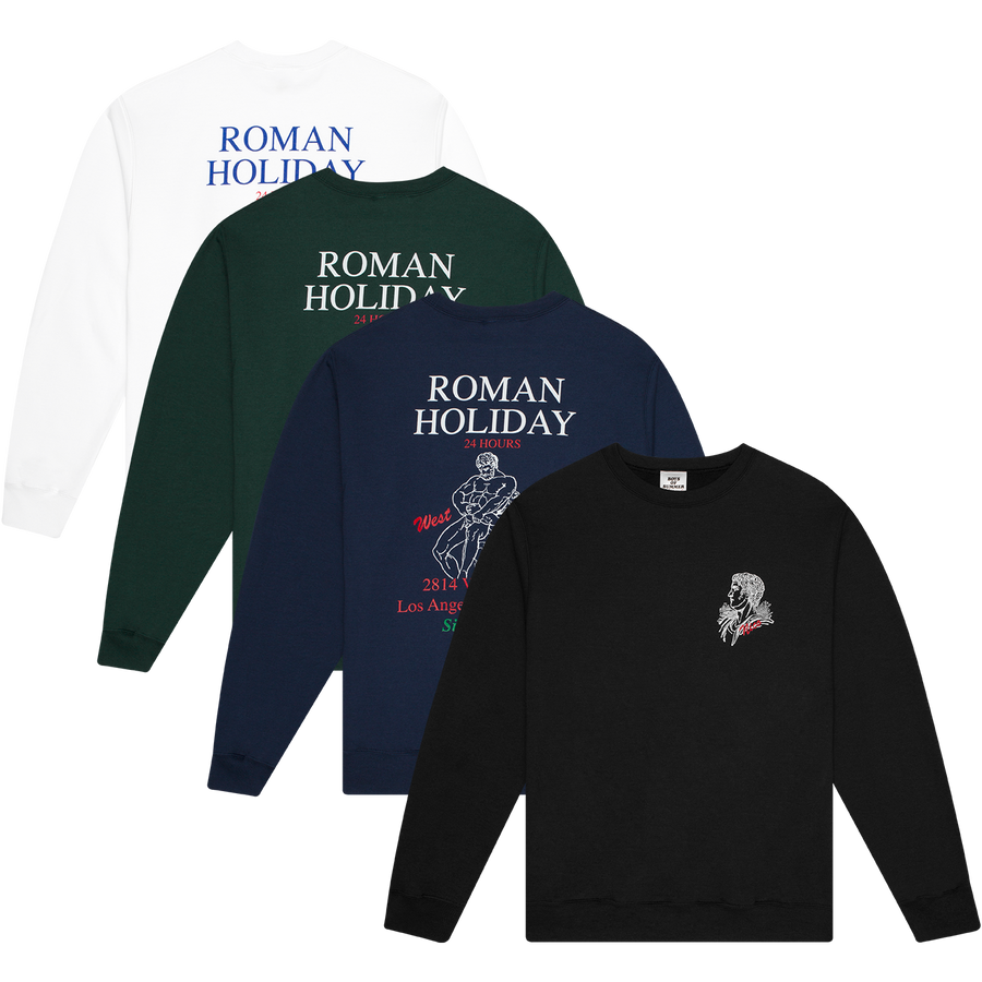 Roman Holiday Crewneck Sweatshirt