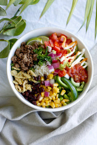 Build Your Own Burrito, Poke, or Goddess Bowl