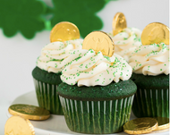 Virtual Bake Night: Green Velvet Cupcakes with Cream Cheese Icing Wednesday March 17th- 7-9pm