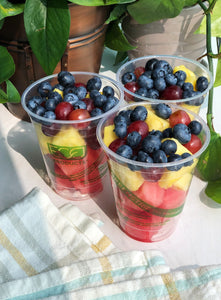 Fruit and Veggie Cups