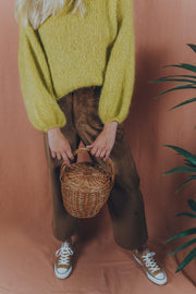 ANEMONA sweater curry - blueanemone