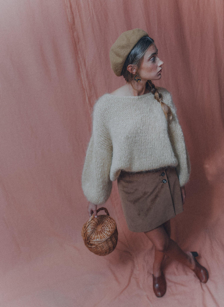 ANEMONA sweater camel