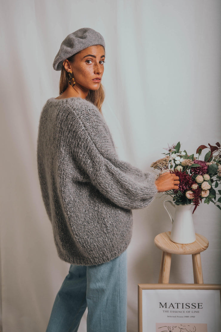 ANEMONA cardigan grey