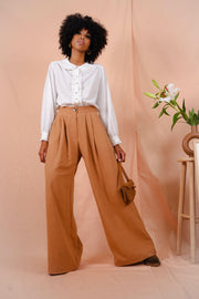 BROOKLYN pants in camel