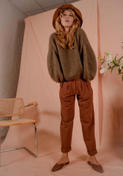 ANEMONA sweater taupe