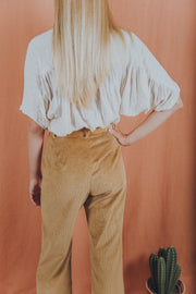 PAIGE pants in tan - blueanemone