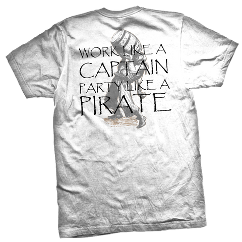 Party Like a Pirate Pocket Tee - RobbNPlunder