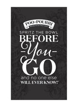 Load image into Gallery viewer, Poo~Pourri Instruction Cards