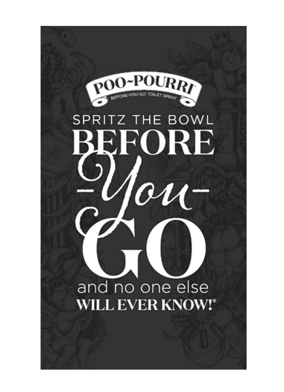 Poo~Pourri Instruction Cards