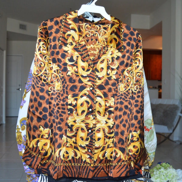 Lazy Leopard top