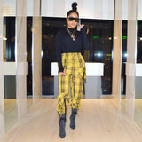 Yellow Cab Plaid pants