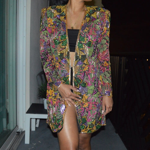 Spring Bling Mbellished Jacket