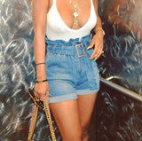 Babydoll Denim shorts