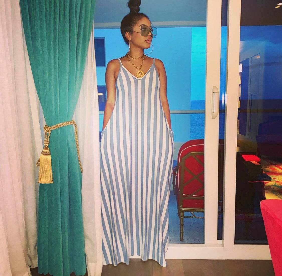Simple Stripes Sundress