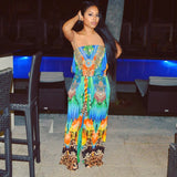 Silk Tribal jumpsuit