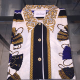 2BJ) Royal Tassel top