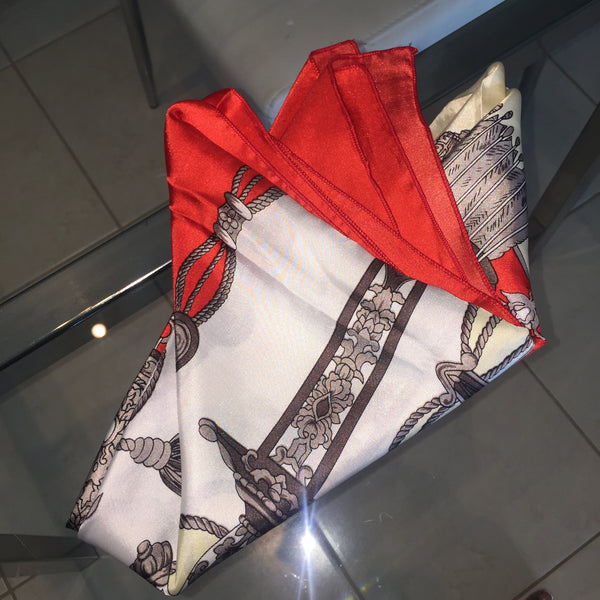 1C) Red Knight scarf