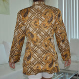 2ct Leopard Stripe Jacket