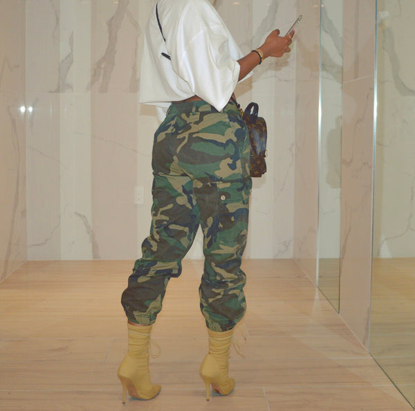 Crazy about Camo pants