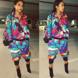 Watercolor tracksuit