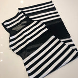 Stripes on my Curves dress