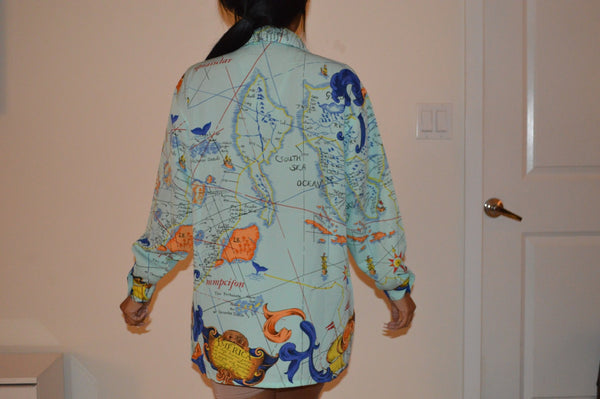 Travel Map Top