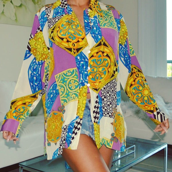 Colorful Pattern top