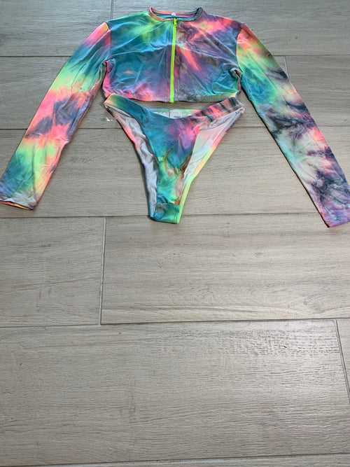 Sunset Tie Dye Set