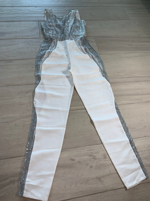 Silver Winter Jumpsuit