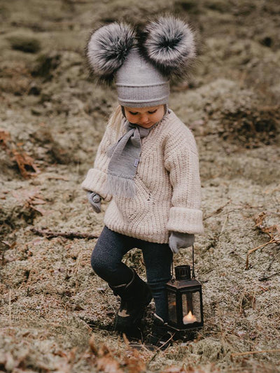 Satila Tindra Double Pom Pom Hat