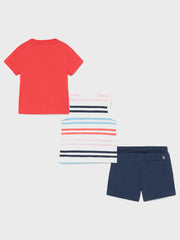 Mayoral Toddler Boy Surf 3 Piece Outfit Set