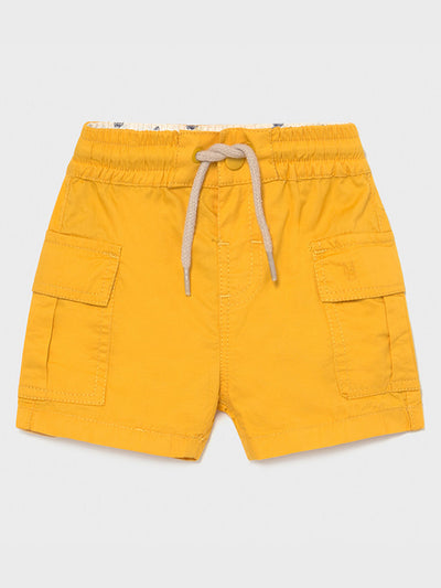 Mayoral Toddler Boy Orange Cargo Short