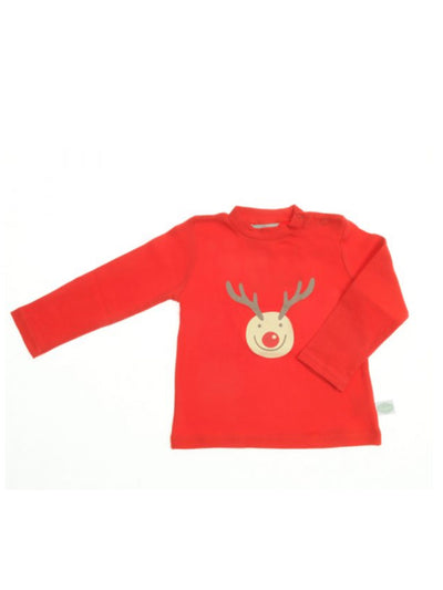 Rudolph Reindeer Christmas Top