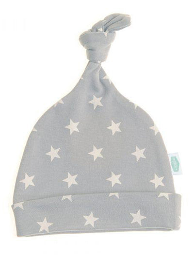 Grey With White Stars Hat