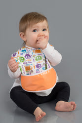 Ooga Booga Monsters Pocket Bib