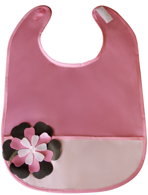 Flower Power Bib